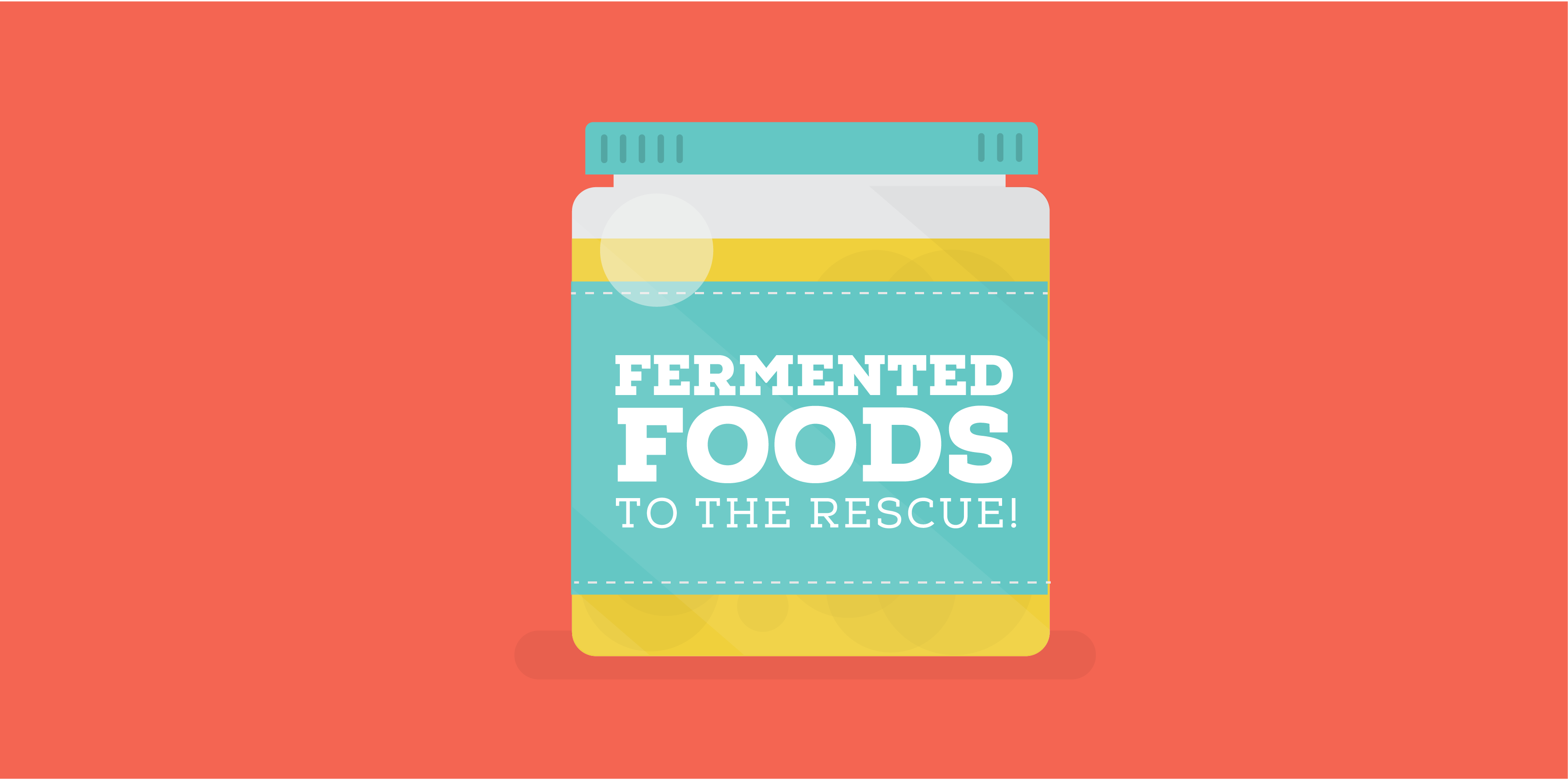 Fermented Foods to the rescue!